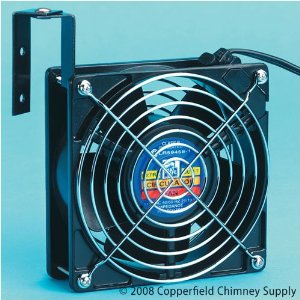 Chimney Extra-quiet Circulator Fan