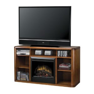 Symphony Logan Media Console with Fireplace
