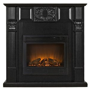 Martin Electric Fireplace - Black