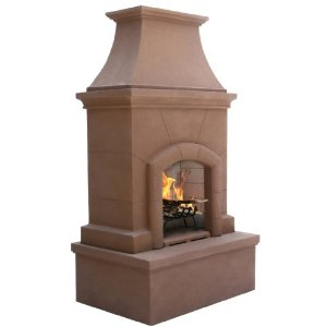 Pacific Living Desert Tan Premium Fireplace